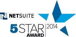 NetSuite 5-Star Award 2014