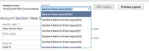 Financial Sections Screenshot 2