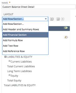 Financial Sections Screenshot 3
