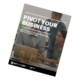 NetSuite's Pivot Your Business eBook