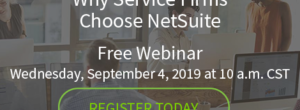 Why Service Firms Choose NetSuite