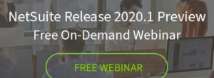 NetSuite Release 2020.1 Preview